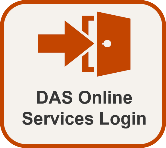 DAS Online Services Login