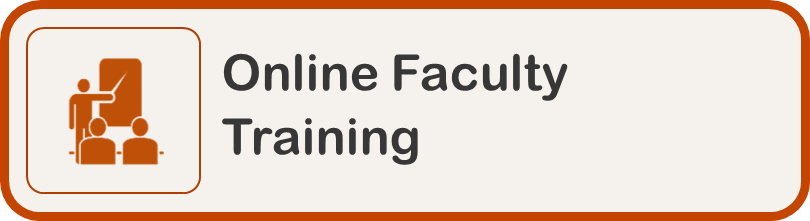 Online Faculty Training