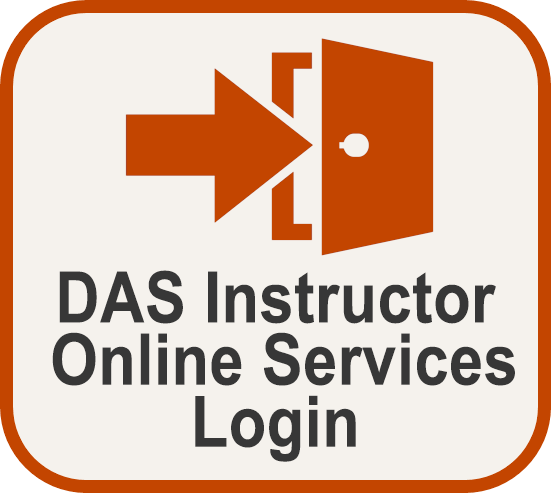 DAS Instructor Online Services Login